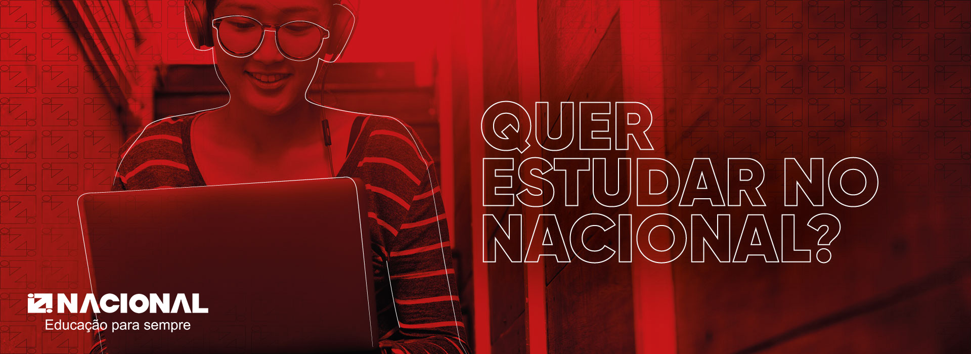 Quer estudar no Nacional